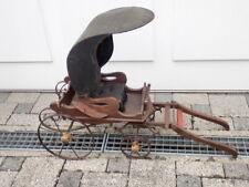 Alte Kutsche für Spielzeugholzpferd, sehr selten, ca. 50 Jahre alt