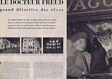 COUPURE DE PRESSE CLIPPING 1956 SIGMUND FREUD  (13 pages)