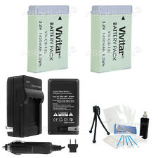 2X NB-13L NB13L Replacement Battery + Charger for Canon PowerShot G7X G9X SX730