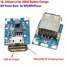 2x Micro Usb 5V Li-ion 18650 Battery Charger Module Board Diy Power Bank ^P Ly