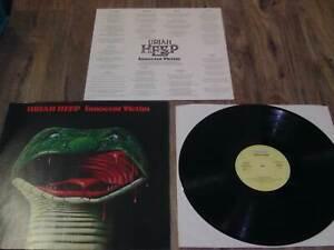 Uriah Heep Innocent Victim LP + Lyricpaper Bronze 25543XOT