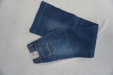 PEPE JEANS Glaze Damen flare bootcut stretch schlag Hose W25 L34 blau NEU #B
