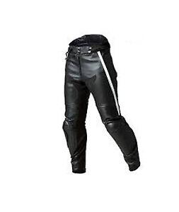 BMW Men Motorcycle Motorbike Genuine Leather Trouser Pants