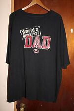 Arizona Diamondbacks Worlds Greatest Dad Men's Black T Shirt Size 3XL XXXL