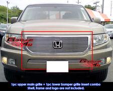 Fits Honda Ridgeline Billet Grill Insert Combo 09-10