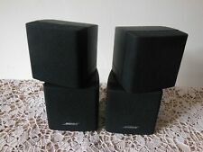 2 X Bose Double Cube Speakers Lifestyle Acoustimass Black ( Ref 2 )