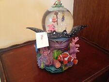 """Disney Finding Nemo """"Coral Reef Over The Waves"""" Musical Snowglobe"""