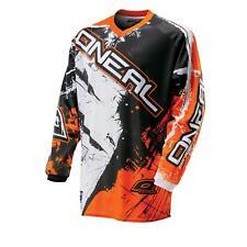 Camisa de elemento oNeal kids MX Jersey SHOCKER naranja MotoCross Enduro MTB bici