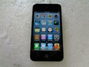 Apple A1367 iPod Touch 8GB 4th Generation Black