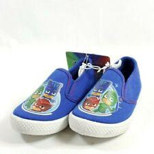 PJ Mask Slip On Shoes Toddler Blue Canvas Uppers (sb11ep)