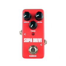 Kokko Fod5 Mini Supa Drive Overdrive Electric Guitar Effect Pedal TrueBypass New