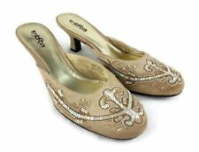 Kenneth Cole Tribeca Women Closed Toe Pump Shoes Fabric Sequin Size 9 M Casual
