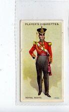 (Jd3983) PLAYERS,REGIMENTAL UNIFORMS 2ND,ROYAL SCOTS,1913,#58
