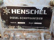 Schiffsmotor Schiffsdiesel Stationärmotor Reintjes Henschel Wendegetriebe