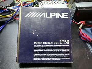 NEW OLD SCHOOL ALPINE 1756 DISPLAY INTERFACE UNIT FOR ALPINE'S VIDEO SYSTEM