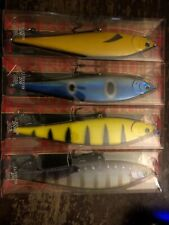 LUCKY CRAFT LL POINTER 200 SS=LOT of 4 Lures. Check The Pics!