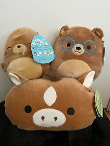 Brown Squishmallow Lot - New With Tags - Check out other listings!