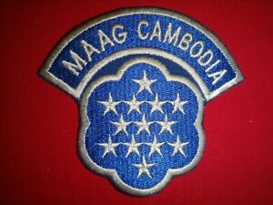 Vietnam War Patch US Military Assistance Advisory Group MAAG In CAMBODIA