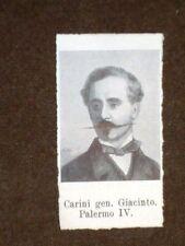 Deputato nel 1861 Giacinto Carini di Palermo e Luigi Torelli di Tirano