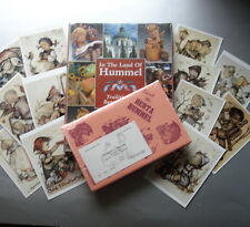 Hummel Collector's Books & 12 Postcards Gift Set Sketch Me & Land of Hummel New
