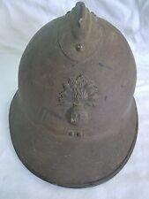 LEGION ETRANGERE Bon Casque Adrian WWII modèle 1926 Infanterie complet ORIGINAL