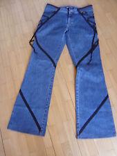 Original Versace Jeans Couture Jeans Hose mit Satin Bändern Vintage Gr. 30
