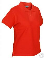JERZEES POLO SHIRT SALE - 3 POLO SHIRTS - RED - SIZE M - B/N