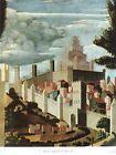 STAMPA - BEATO ANGELICO - Paesaggio (part. di deposizione) - 30x25cm. - 1960 ca.
