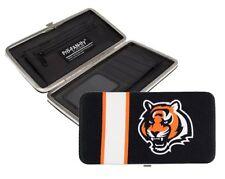 Cincinnati Bengals NFL Team Logo Hard Shell Mesh Wallet
