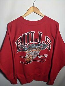 Vintage Chicago Bulls Basketball Club Men's M/L Sweatshirt