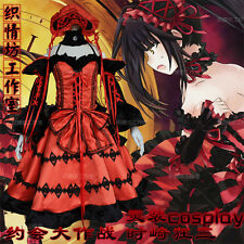 Tokisaki Kurumi Cosplay Costume Dress Anime DATE A LIVE Dolly Lolita Sweet Hot