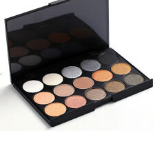 Pro Shimmer 15 Color Eye Shadow Cosmetics Makeup Eyeshadow Palette Set Pr Gift