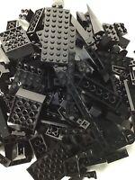LEGO Over 100 Pieces Mixed Lot Black Mix Of Parts and Pieces Bulk Lot Random