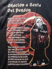 ORACION A SANTA DEL PERDON / PRAYER TO SANTA DEL PARDON MEDIUM SHIRT 100% COTTON