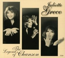 JULIETTE GRECO - LEGEND OF CHANSON 2 CD NEUF