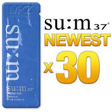 SU:M37 Water-Full Timeless Pore Essence 30pcs Anti-Aging Serum SUM37 Newest Ver