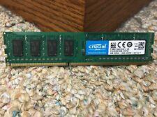 Crucial 4GB DDR3L-1600 UDIMM Memory ---