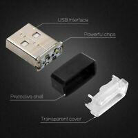 Mini Flexible USB LED Lamp Car Atmosphere Light Accessories Colorful 1PCS
