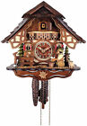 * BEER DRINKER *   Quality hand-carved, traditional German cuckoo clock  26-11
