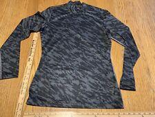 Nike Golf Mens Mock Neck Shirt Long Sleeve Tour Performance Dri Fit Thermal Sz M