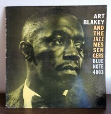 Art Blakey & the Jazz Messengers 1959 Vinyl Blue Note Records 2nd Press Mono RVG