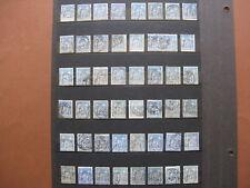 FRANCE oblitérés  UN LOT DE 96 SAGE 15 c bleu