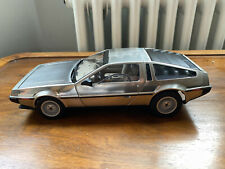 AutoArt Signature limited DeLorean Dmc-12 Satin Metal 79911 1/18