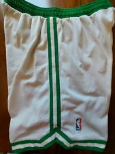 Adidas Boston Celtics NBA Authentics Sewn Basketball Shorts Mens Size XL