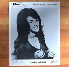 authentic Wanda Jackson press photo #2 from Mpls Flame Cafe