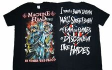 MACHINEHEAD In Comes the Flood T-shirt Machine Head Heavy Metal Tee LARGE New