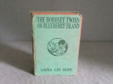 THE BOBBSEY TWINS ON BLUEBERRY ISLAND 1917 Laura Lee Hope Children's Series
