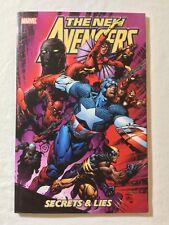 New Avengers (2005) Tpb Volume 3 Secrets & Lies Brian Bendis & David Finch