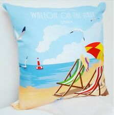 Walton on the Naze Beach Cushion