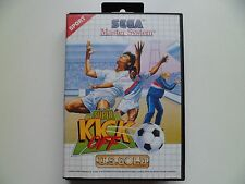 SEGA Master System SMS Game Super Kick Off Fully Tested